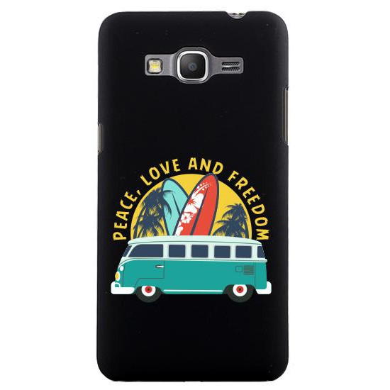 Galaxy Grand Prime G530 Peace and Love Rubber Kılıf