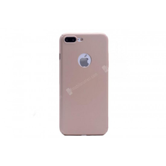 iPhone 7 Plus Gold 360 Kenar Korumalı Rubber Kılıf