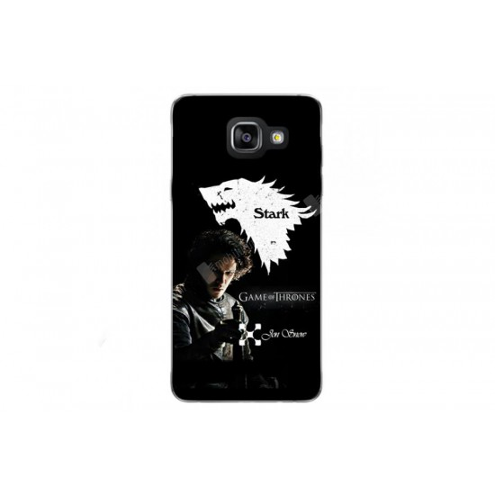 Galaxy A7 2016 Jon Snow Rubber Kılıf