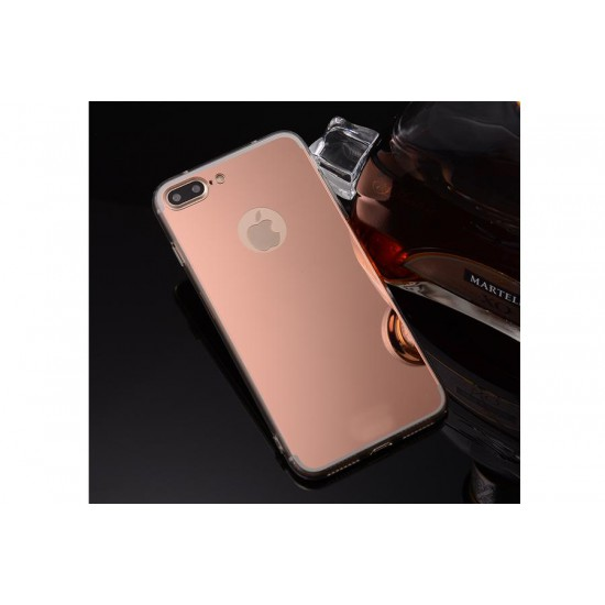 iPhone 7 Plus Aynalı Silikon Kılıf Rose Gold