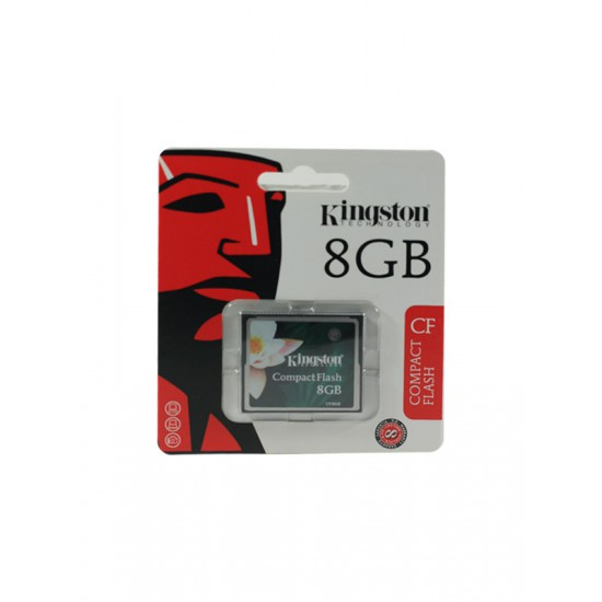Kingston 8GB CF Compact Flash Card