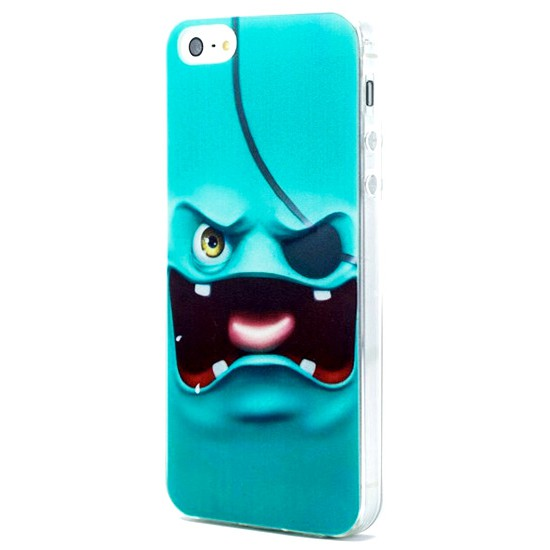 Pirates Monster Ultra İnce iphone SE / 5 / 5s Silikon Kılıf