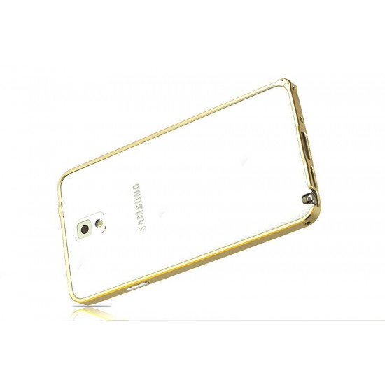 Samsung Note 3 Dual Color Gold Kenarlık