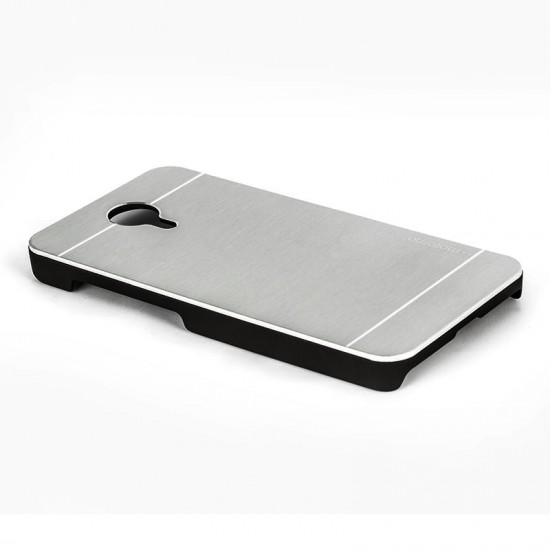 Motomo General Mobile One 4G Metal Rubber Kılıf - Chrome
