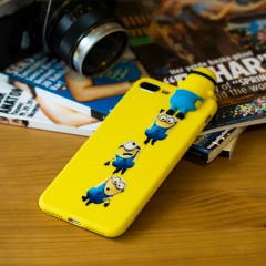 Secron Apple iPhone 7 Plus - 8 Plus Minion Silikon Kılıf