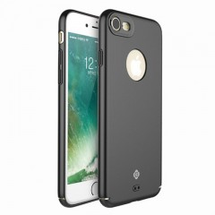 Totu Design iPhone 7 - 8 Color Series Kılıf - Siyah